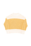 Tinycottons Beige Color-Block Sweater
