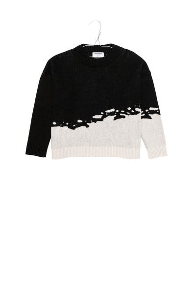 Motoreta Black & Off White Juno Sweater
