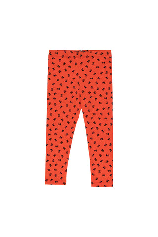 Tinycottons Red Tiny Flowers Pant