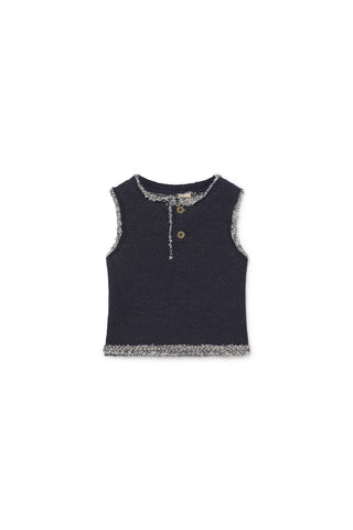 Little Creative Factory Baby Indigo Denim Jersey Vest