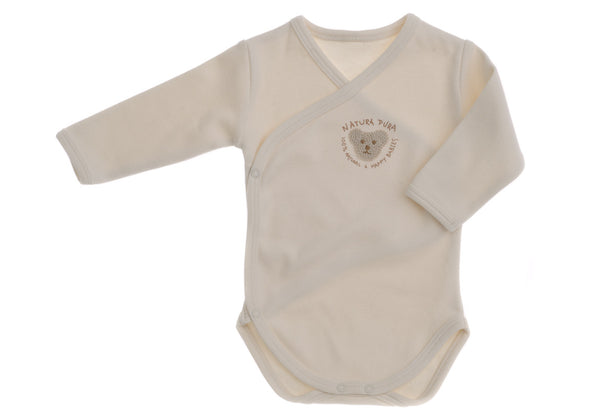 Naturapura Baby Ivory Bear Organic Cotton Bodysuit