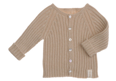 Naturapura Ribbed Sweater Beige
