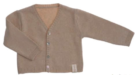 Naturapura Basic V-Neck Sweater Beige