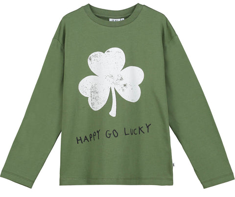 Beau Loves Moss Happy Go Lucky Long Sleeve T-shirt