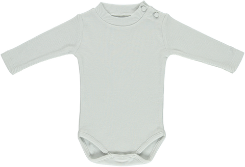 Bebe Organic Feather Grey Body Set