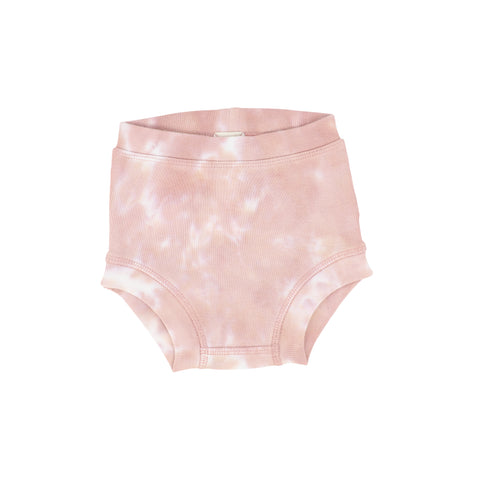 Lil Legs Blush Watercolor Bloomer
