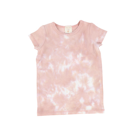 Lil Legs Blush Watercolor Short Sleeve T-Shirt