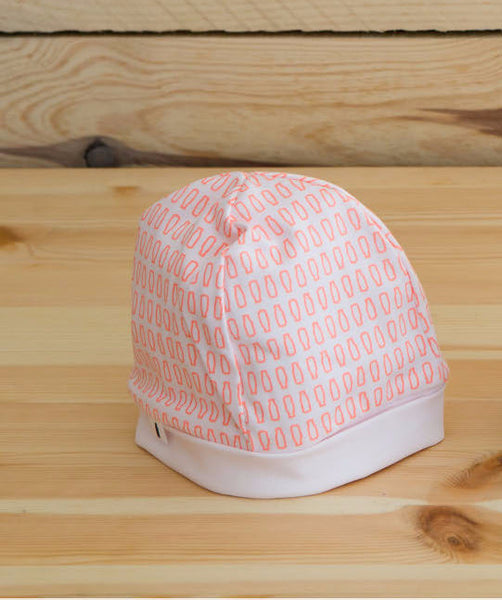 Message in the Bottle Marshmallow Bottle Print Hat