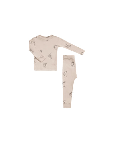 Rylee & Cru Moons Pajama Set