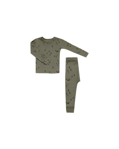 Rylee & Cru Forest Pajama Set