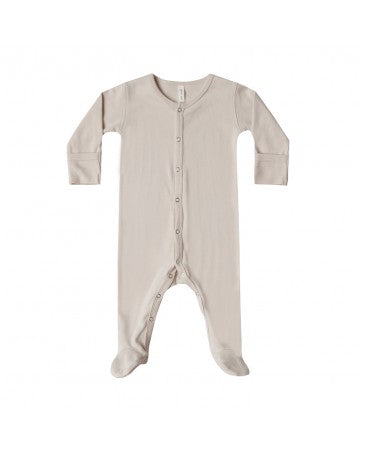 Quincy Mae Bone Footed Onesie