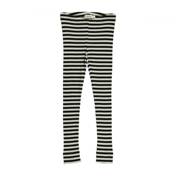 MarMar Copenhagen Black & Off White Stripe Modal Set