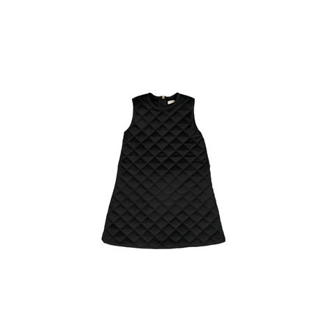Carbon Soldier Black Doctor Pinch Pinny Dress