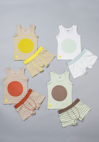 Dott Child Boy Sleeveless 8pc Undies Set