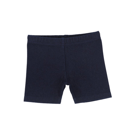 Lil Legs Dark Denim Biker Shorts