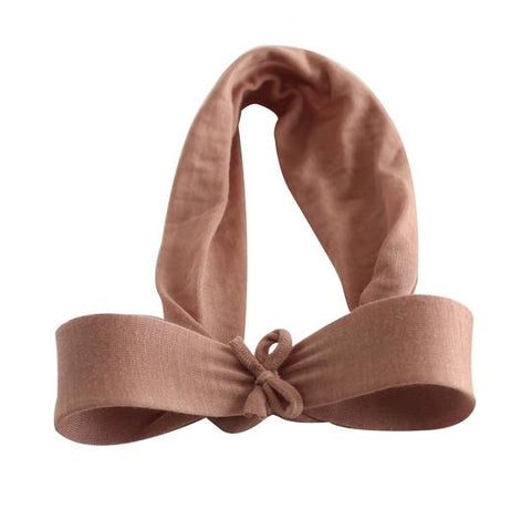 Arbii Dusty Mauve Silkberry Bow