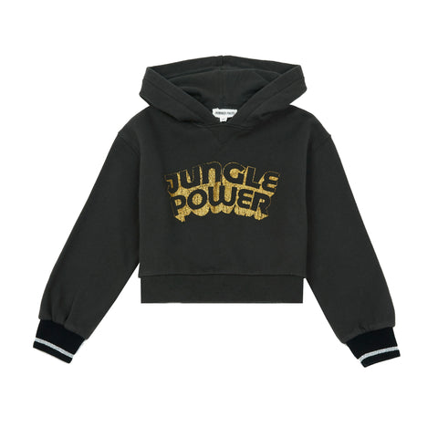 Hundred Pieces Lurex Jungle Power Hoodie