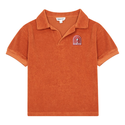 Hundred Pieces Orange Surf Shack Terry Polo