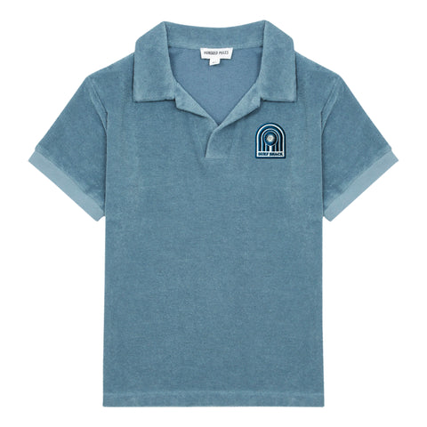 Hundred Pieces Storm Blue Surf Shack Terry Polo