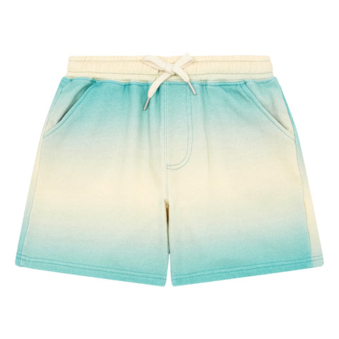 Hundred Pieces Green Cotton Shorts