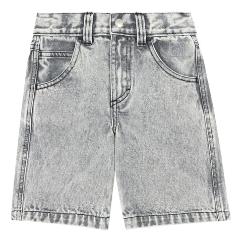 Hundred Pieces Denim Grey Shorts