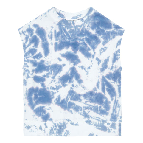 Hundred Pieces Blue Tie Dye T-shirt