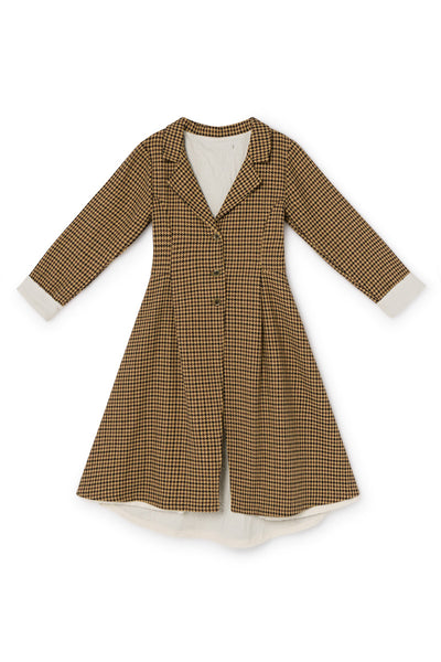 Little Creative Factory Fawn Tweed Coat