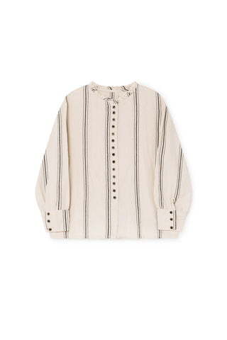 Little Creative Factory Cream Stripe Blouse