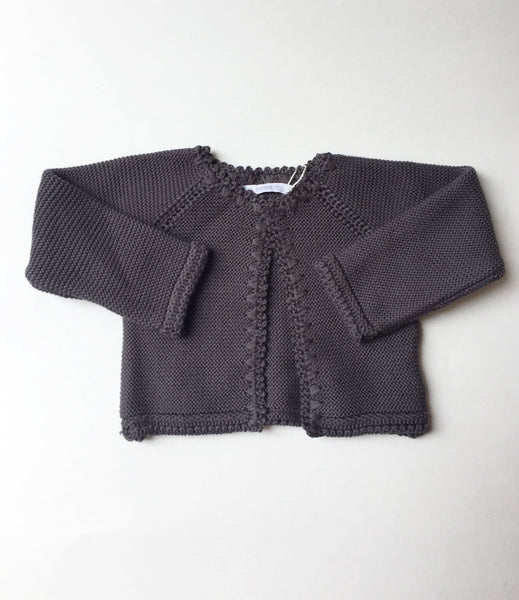 Pilar Batanero Dark Grey Cardigan