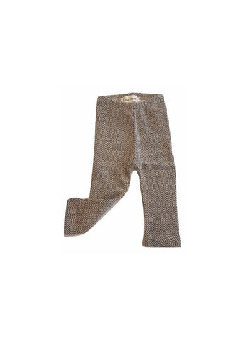Latte e Biscotti Grey Speckled Leggings