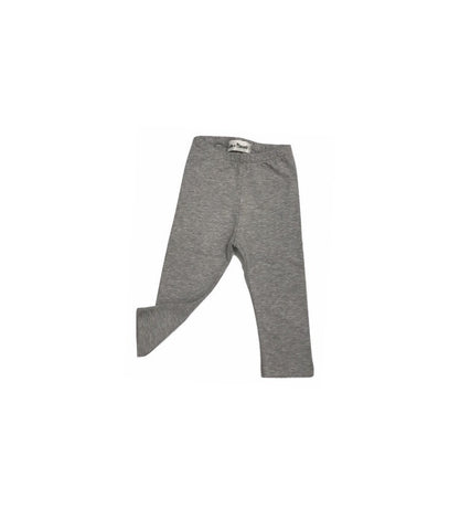 Latte e Biscotti Heather Grey Leggings