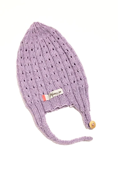 Mor Mor Nu Knit Purple Hat