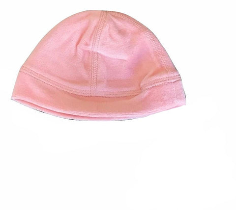 Dream Baby Layette Peach Velour Beanie
