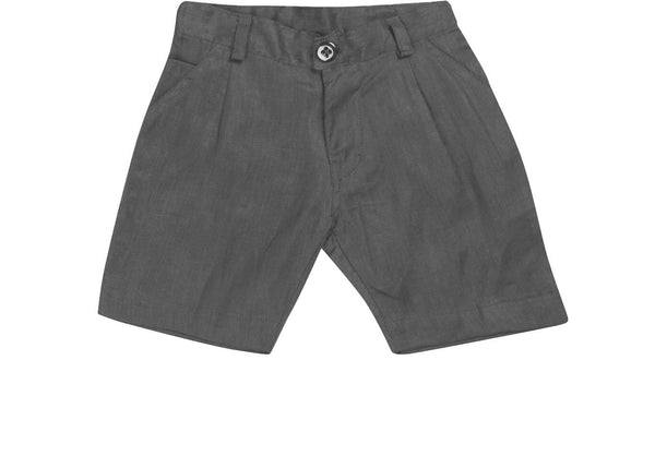 Petit Patch Linen Grey Shorts