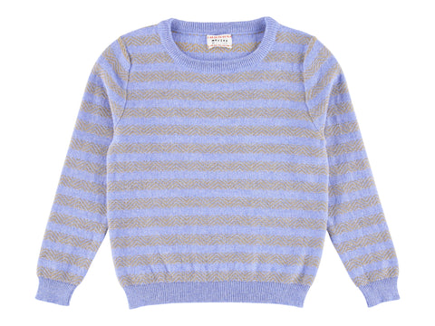Morley Hawk Breezy Blue Stripe Sweater