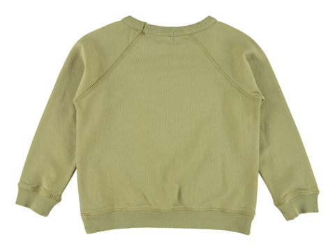 Morley Hector Solid Swamp Sweater