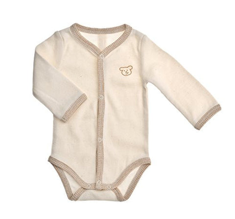 Naturapura Beige Bear Stripe Set