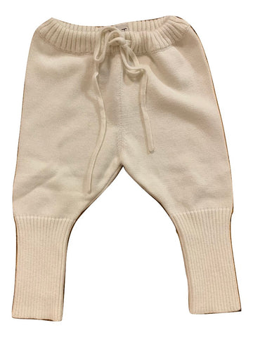 KNIT Ivory Baby Pant