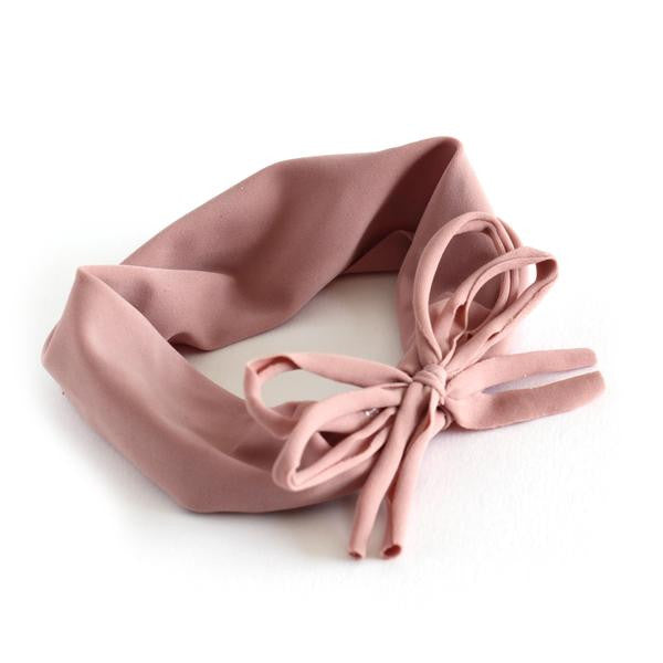 Arbii Shoelace Bow Antique Rose