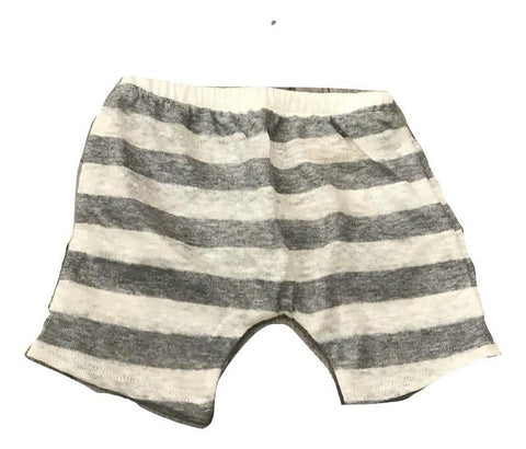 Latte e Biscotti Grey Stripe Shorts Ryan Randy
