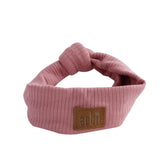Arbii Mauve Ribbed Turban Band