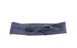 Arbii Denim Bow Sweatband