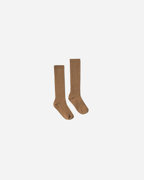 Rylee & Cru Saddle Solid Knee Socks