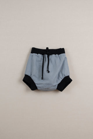 Popelin Blue Reversible Culotte