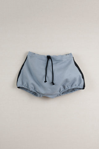 Popelin Blue Bloomer Shorts