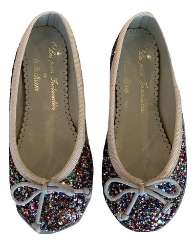 Les Petits Inclassables Multi Color Ballerina Flats