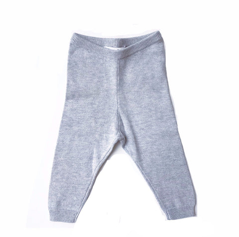 Oscar et Valentine Grey Knit Leggings