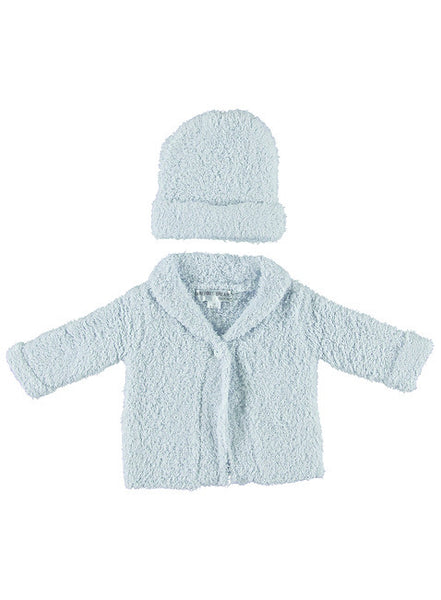 Barefoot Dreams COZYCHIC® CARDIGAN AND HAT SET
