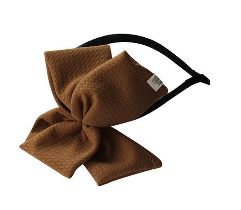 Arbii Caramel Honeycomb Scuba Side Headband