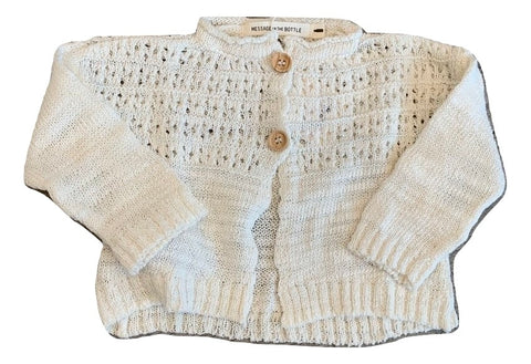 Message In The Bottle Natural Gunta Knitted Sweater
